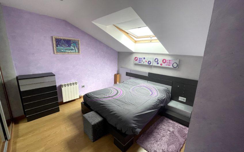 Amueblado y equipado: Apartamento tipo dúplex en Trobajo